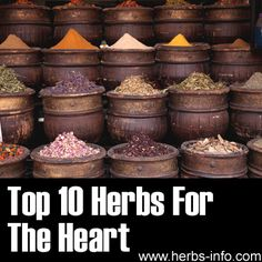 ❤ Top 10 Herbs For The Heart ❤