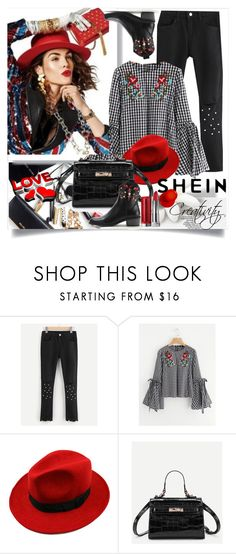 """SHEIN II/10"" by creativity30 ❤ liked on Polyvore featuring WithChic"