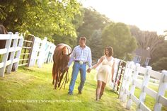 Horse Ranch Maternity Session by JM Photography