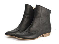 Kim Black boots van TamarShalem op Etsy, $230.00