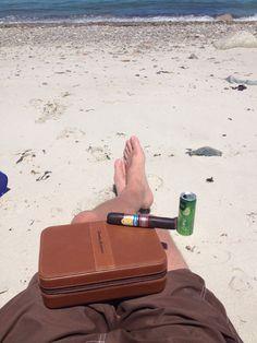 Satoris on da beach !