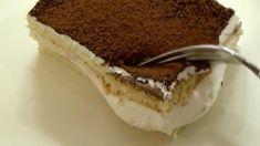 Jemný, svieži a rýchly tvarohový koláč zo 4 vajec a 250g tvarohu. Poteší každú uponáhľanú gazdinku! - Báječná vareška Tiramisu, Sweets, Baking, Cake, Ethnic Recipes, Food, Basket, Gummi Candy, Candy