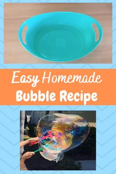 Fun Activities For Kids, Fun Crafts For Kids, Stem Activities, Infant Activities, Kid Crafts, Homemade Bubble Wands, Homemade Bubble Recipe, Homemade Bubbles, Bubble Solution Recipe