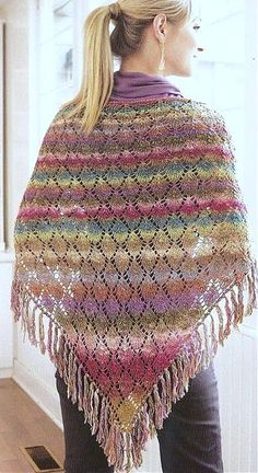 Prayer shawl joyful colors