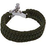 SODIAL(R) 7 Strand Supervivencia Militar pulsera de la cuerda de la armadura de la hebilla - Negro: Amazon.es: Deportes y aire libre