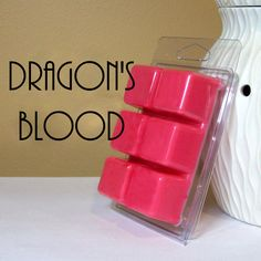 Dragon's Blood Scented Wax Melt - Still Water Candles Scented Wax Warmer, Scented Wax Melts, Water Candle, Candle Making Business, Wax Burner, Wax Tarts, Homemade Soap Recipes, Home Scents, Scented Oils