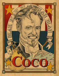 Victorian Conan O'Brien by Chris Tirri