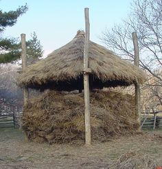 hay roof example