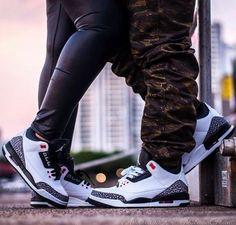A nice pair with nice pair of Jordan 3's!