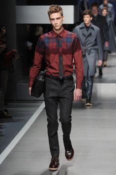 Semana de Moda Masculina - Milão/Fendi Inverno 2014.