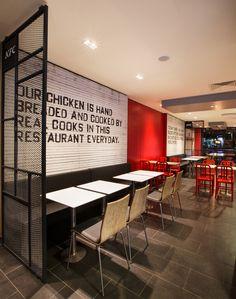 KFC restaurant concept by CBTE MIMARLIK, Turkey