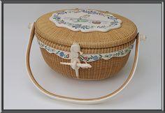 Basket by Alan Reed, Scrimshaw by Lee Papale
