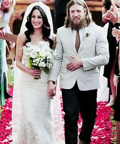 Mr. & Mrs. Danielson!!! Brie Bella and Daniel Bryan ❤️❤️