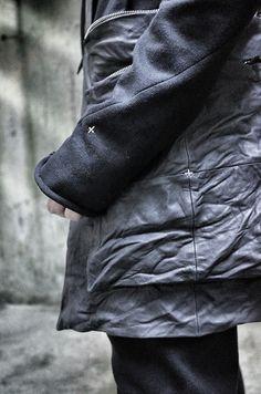 [m.a+]styling[m.a+]Long Hooded Buttoned JacketJ222DHL-JM4100% Cottonsize 44,46O…