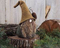 Nordic Woodland Gnome, Scandinavian Gnome, Nisse, Wizard, Elf, Gifts for Her, Hostess Gift, Tomte, Tomten, Swedish Gnomes, Elves, Wizards