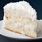 Truly Coconut Cake.  Low carb:  3 net carbs per serving.