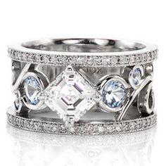 Nic and Alex - Knox Jewelers - Minneapolis Minnesota - Filigree Engagement Rings - Nic and Alex, Knox Signature Rings