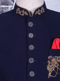 Sherwani For Men Wedding, Wedding Dresses Men Indian, Wedding Dress Men, Wedding Men, Prince Suit, Indian Groom Wear, Zardosi Embroidery, Achkan, Mens Kurta Designs
