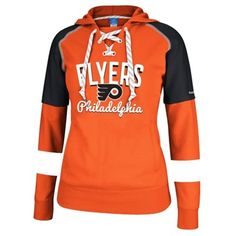 Philadelphia Flyers Reebok Women's Core Pullover Hoodie – Orange/Black