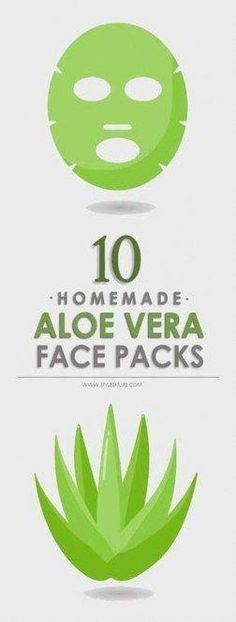 Aloe vera is an excellent plant and has lot of uses for face. Here are a 10 best Homemade Aloe Vera Face Packs for glowing skin, dark spots, pimples, tanning and different skin types . Aloe Vera For Face, Aloe Vera Skin Care, Aloe Vera Face Mask, Natural Oils For Skin, Mask For Oily Skin, Natural Beauty Tips, New Skin, Pimples, Dark Skin