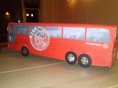 Ajax spelersbus