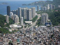 Segregação urbana em 6 fotografias: desigualdade vista de cima