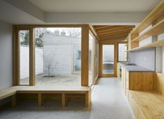 Image 3 of 13 from gallery of Laneway Wall Garden House / Donaghy & Dimond Architects. Photograph by Ros Kavanagh Patio Interior, Interior And Exterior, Interior Design, Contemporary Architecture, Interior Architecture, Dublin House, Casa Patio, Internal Courtyard, House Extensions