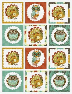 Free Thanksgiving Party Printables