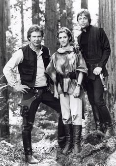 Star Wars || Han, Leia & Luke <3
