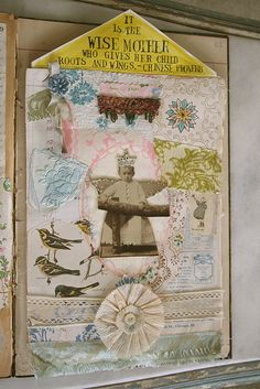 collage page by Pam Garrison