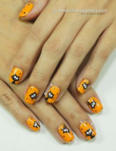 The Return of Black Cats Galore Nail Art Design by Simply Rins