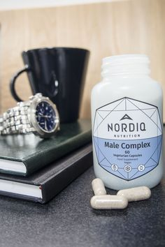 NORDIQ Nutrition Male Complex helps to support men's masculine vitality, prostate health and hormonal balance. Male Complex is vegan & additive-free. Testosterone Levels, Hormone Balancing, Natural Supplements, Take Care Of Yourself, How To Stay Healthy, Whole Food Recipes, Nutrition, Balancing Hormones