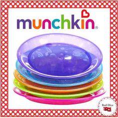 Nuevos Munchkin Pack De 5 Platos Diseño Para Bebes Y Chicos! - $ 115,00
