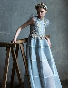 ALALOSHA: VOGUE ENFANTS: New Season FW'18: Meet the new couture creations of Mischka Aoki are fit for a princess