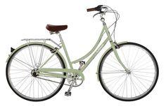 Meet Bike #2! No name yet. I am continuing the green bike series.   Shared from http://hikebike.net