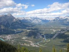 Sulphur Mountain Sulphur Mountain, Banff, Canada, Mountains, Nature, Travel, Naturaleza, Viajes, Destinations