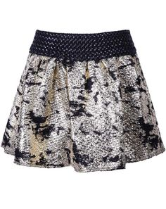Shop Gold Elastic Waist Floral Print Skirt online. Sheinside offers Gold Elastic Waist Floral Print Skirt & more to fit your fashionable needs. Free Shipping Worldwide!