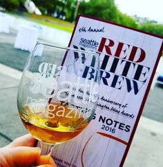 Red White & Brew: Perfect #Seattle Friday Eve to taste some #wine & bites!! #RWBSea  Can't wait to hear who wins @SeattleMag WA Wine Awards!