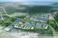 As the first Vietnamese company to enter the Cuban market, Viglacera Corporation has invested into its first industrial park in the country. Investment Group, Industrial Park, Factory Design, Sustainable Development, Cuba, The One, City Photo, City Skylines, Mansions