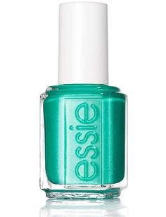 Mermaids may not have to worry about pedicures (what feet?), but Essie Naughty Nautical, a turquoise with a hint of ultrafine shimmer, will make your mani sea-worthy.