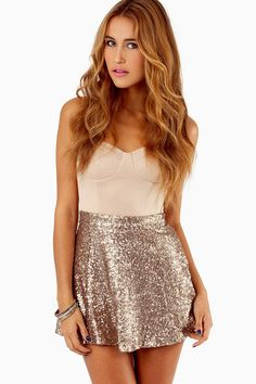 My favorite gold sequin skater skirt is on sale for $17.... I love this for a festival party.