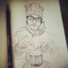 Latte in Amsterdam
