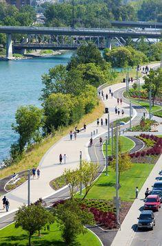 Urban Landscape Photography Tips – PhotoTakes Landscape Architecture Drawing, Landscape Design Plans, Urban Architecture, Urban Landscape, Architecture Tools, Computer Architecture, Park Landscape, Landscaping Design, Sustainable Architecture
