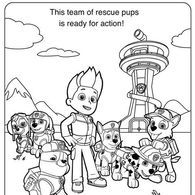 Paw patrol coloring pages - Paw patrol skye Wiki - Wikia