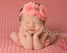 You Pick 3 Baby Headband Set - 55 Options Double Shabby Headbands - Infant Headband- Baby Hair Accessories - Newborn Headband - Baby Gifts
