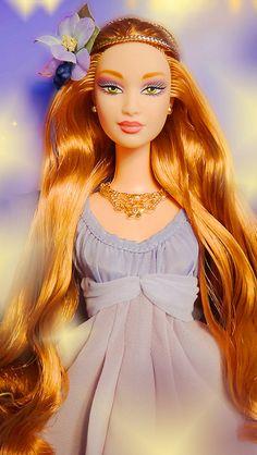 Goddess of Spring Barbie by possiblezen on Flickr