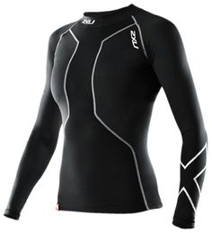 2XU Swimmers Compression Long Sleeve Top. Engineered for the unique muscular physiology of swimmers. #dansbasketball #fashion #compression #2xu #2xucompression #afflink