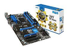 Amazon.com: MSI ATX DDR3 2400 LGA 1150 Motherboards Z97 PC MATE: Computers & Accessories