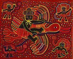 Kuna and their Molas