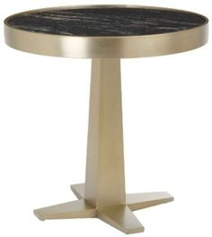 RV Astley Aria Champagne Side Table